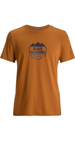 Black Diamond M's Alpinist Crest S/S Tee Copper